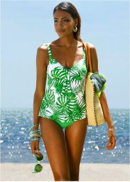 Tankini (2-dlg. set), bpc selection, groen/wit