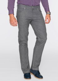 Broek regular fit, bpc selection, donkerblauw gemêleerd