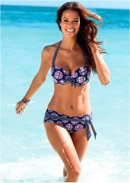 Bikinitop, bpc bonprix collection, blauw/pink