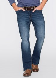 Stretchjeans regular fit bootcut, John Baner JEANSWEAR, blauw