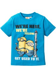 T-shirt «MINIONS», Despicable Me 2, middenturkoois Minions