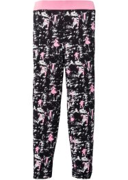 Functionele legging, bpc bonprix collection, zwart/wit/pink