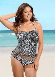 Tankini (2-dlg. set), bpc selection, zwart/beige