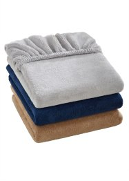 Hoeslaken «Cashmere Touch», bpc living, blauw