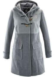 Duffelcoat, bpc bonprix collection, grijs gemêleerd