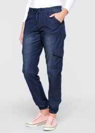Stretchjeans «Wijd», bpc bonprix collection, dark denim