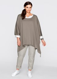 Trui, bpc bonprix collection, taupe