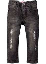 Jeans, John Baner JEANSWEAR, antraciet denim used