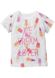 T-shirt, bpc bonprix collection, wit met print