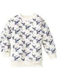Sweatshirt, bpc bonprix collection, crèmewit gedessineerd