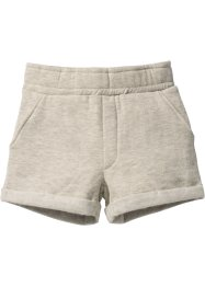 Sweatshort, bpc bonprix collection, ecru gemêleerd