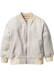 Sweatvest, bpc bonprix collection, ecru gemêleerd/beige