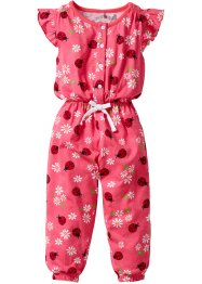Jumpsuit, bpc bonprix collection, lichtpink lieveheersbeestjes