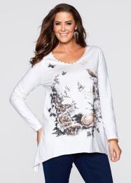 Shirt, bpc selection, wolwit met print