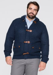 Gebreid vest, bpc bonprix collection, donkerblauw