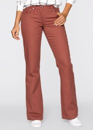 Thermobroek bootcut, bpc bonprix collection, marsala