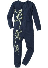 Pyjama, bpc bonprix collection, donkerblauw