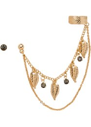 Oorsieraden (2-dlg. set), bpc bonprix collection, goudkleur