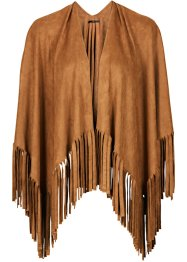 Poncho, bpc bonprix collection, cognac