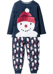 Pyjama (2-dlg. set), bpc bonprix collection, donkerblauw