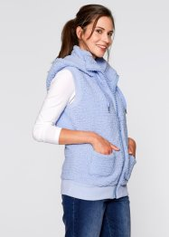 Bodywarmer, bpc bonprix collection, parelblauw
