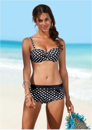 Bikinitop, bpc bonprix collection, zwart