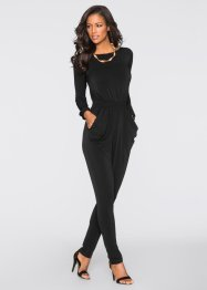 Jumpsuit, BODYFLIRT boutique, zwart