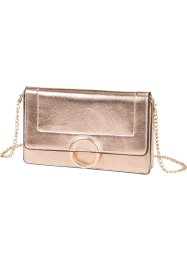 Clutch, bpc bonprix collection, roodgoudkleur metallic/goudkleur