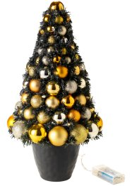 Led-dennenboom «Golden Christmas», bpc living, goudkleur