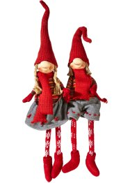 Hoekfiguren «Rudi & Merle» (2-dlg. set), bpc living, multicolor