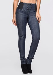 High waist jeans, BODYFLIRT, dark blue stone