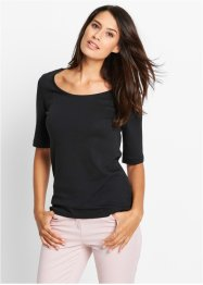 Shirt, bpc bonprix collection, zwart