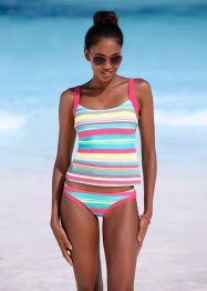 Tankini (2-dlg. set), bpc bonprix collection, turkoois gestreept