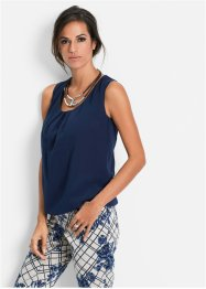 Blousetop, bpc selection, donkerblauw