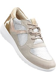 Sneakers, bpc bonprix collection, oudroze/zilverkleur