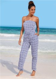 Jumpsuit, bpc selection, blauw/wit