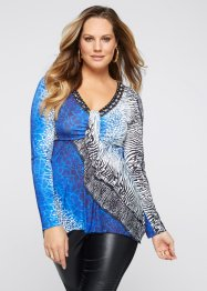 Shirt, BODYFLIRT boutique, blauw
