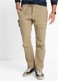 Cargobroek regular fit straight, bpc bonprix collection, beige