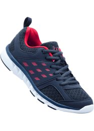 Sportschoenen, bpc bonprix collection, donkerblauw/rood