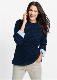 Trui, bpc bonprix collection, donkerblauw