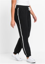 Joggingbroek, bpc bonprix collection, zwart