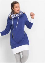 Sweatjurk, bpc bonprix collection, middernachtblauw