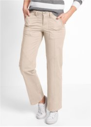 Cargobroek, bpc bonprix collection, kiezelbeige