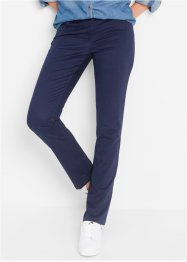 Stretchbroek straight, bpc bonprix collection, donkerpink