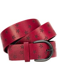 Riem «Ster», bpc bonprix collection, donkerrood