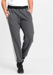 Joggingbroek, bpc bonprix collection, antraciet gemêleerd