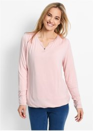 Longsleeve, bpc bonprix collection, parelroze