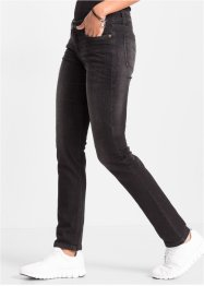 Jeans slim fit, RAINBOW, black denim