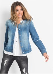 Jeansjack, BODYFLIRT, medium blue denim