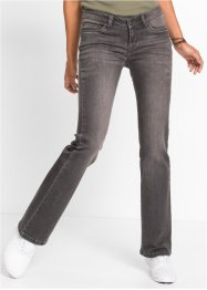 Jeans bootcut, RAINBOW, grey denim